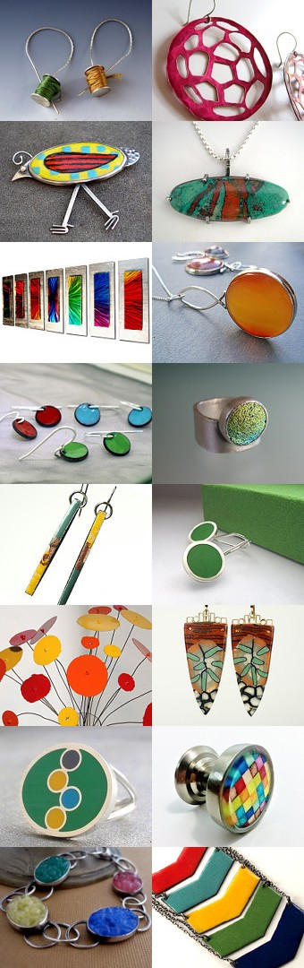 Metal and Color, curated by Laura Bracken