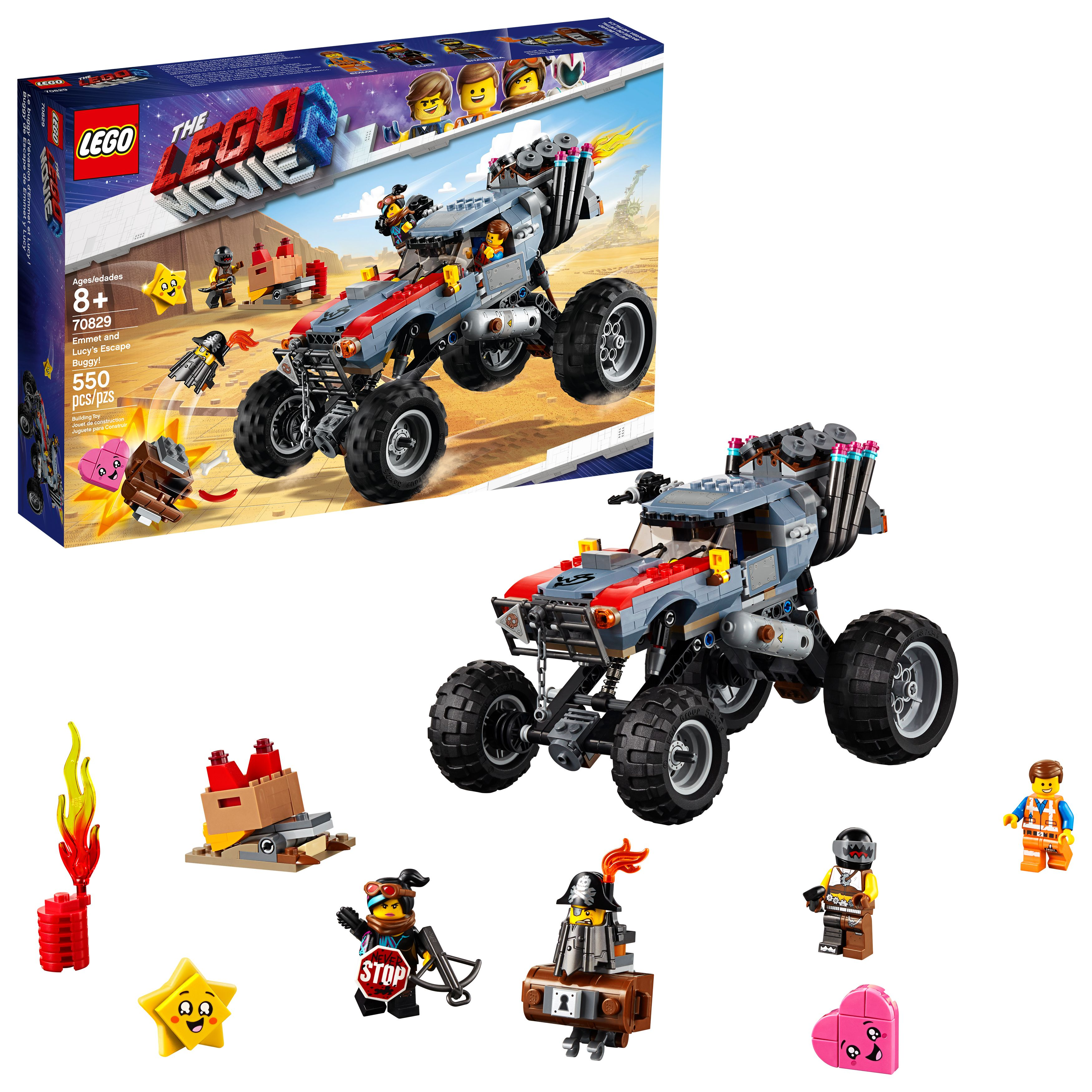 Toys Lego Movie Toy Car Monster Truck Toys