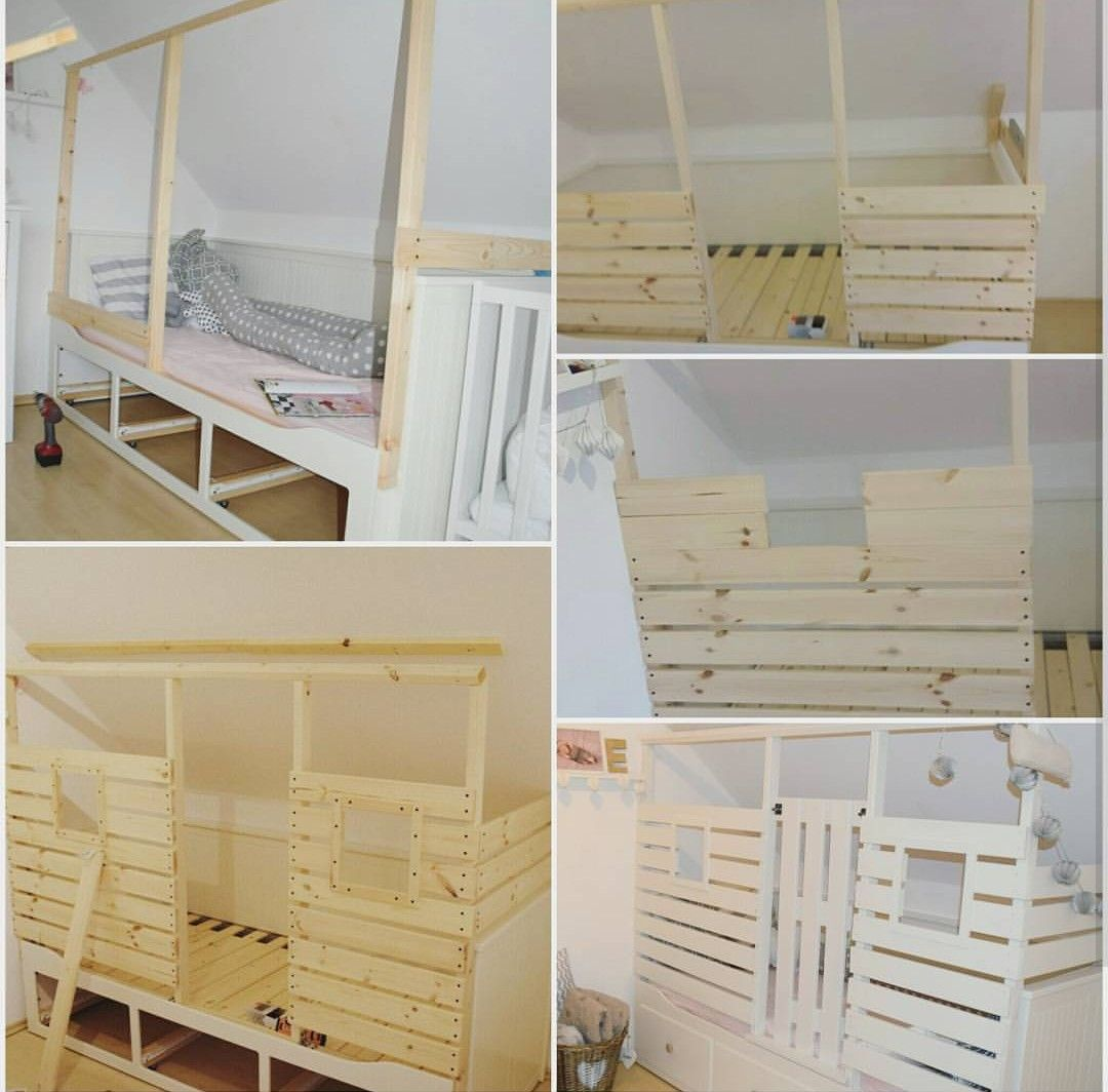 Anleitung Hausbett Auf Hemnes Hausbett Babyzimmer Mobel Zimmer Fur Grosse Jungs