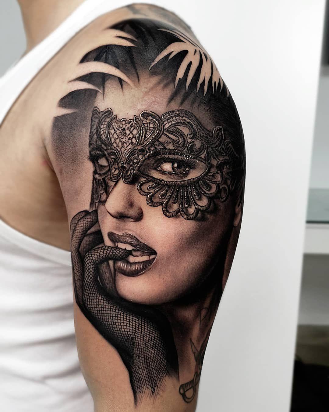Woman Skull Tattoos Skull Tattoos Woman Tattoo 5