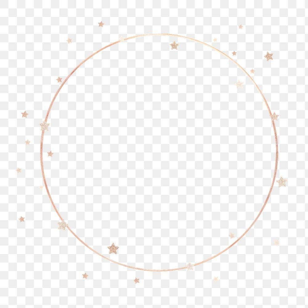 Gold Round Stars Frame Design Element Free Image By Rawpixel Com Marinemynt Frame Design Paper Texture Background Design Frame Logo