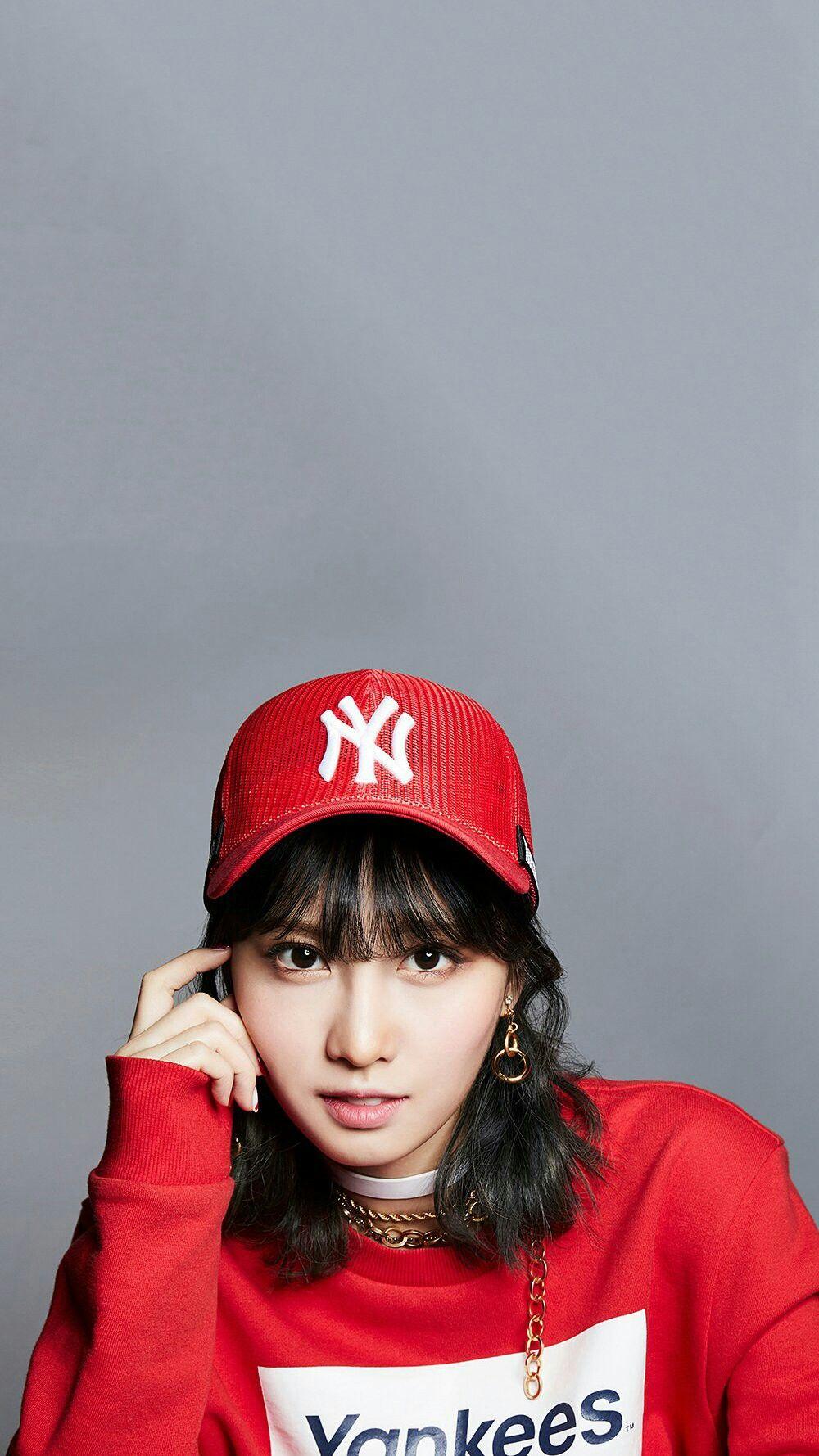 6ddd87259 Momo×Mlb | Twice in 2019 | Winter hats, Japanese girl, Hats