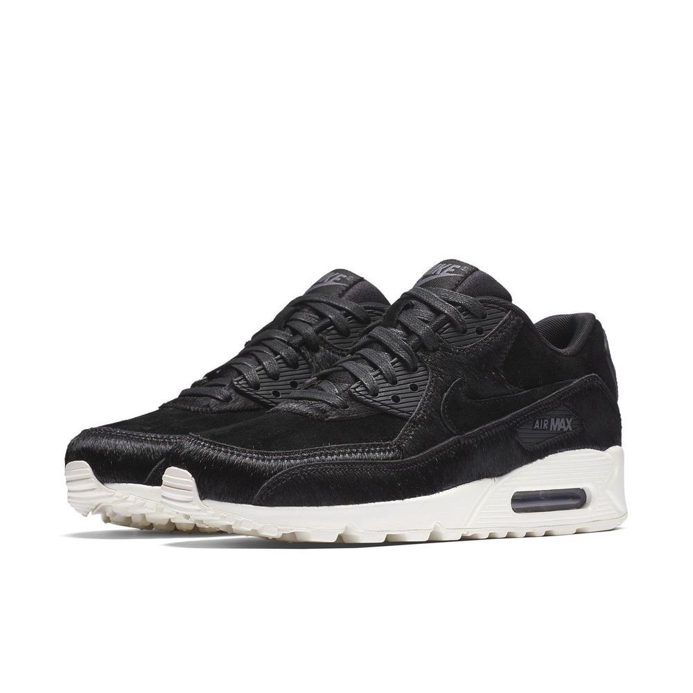 check out a7200 9c3fb Nike Air Max 90 LX Womens Running Shoes Black Dark Grey Sail  Nike   RunningShoes
