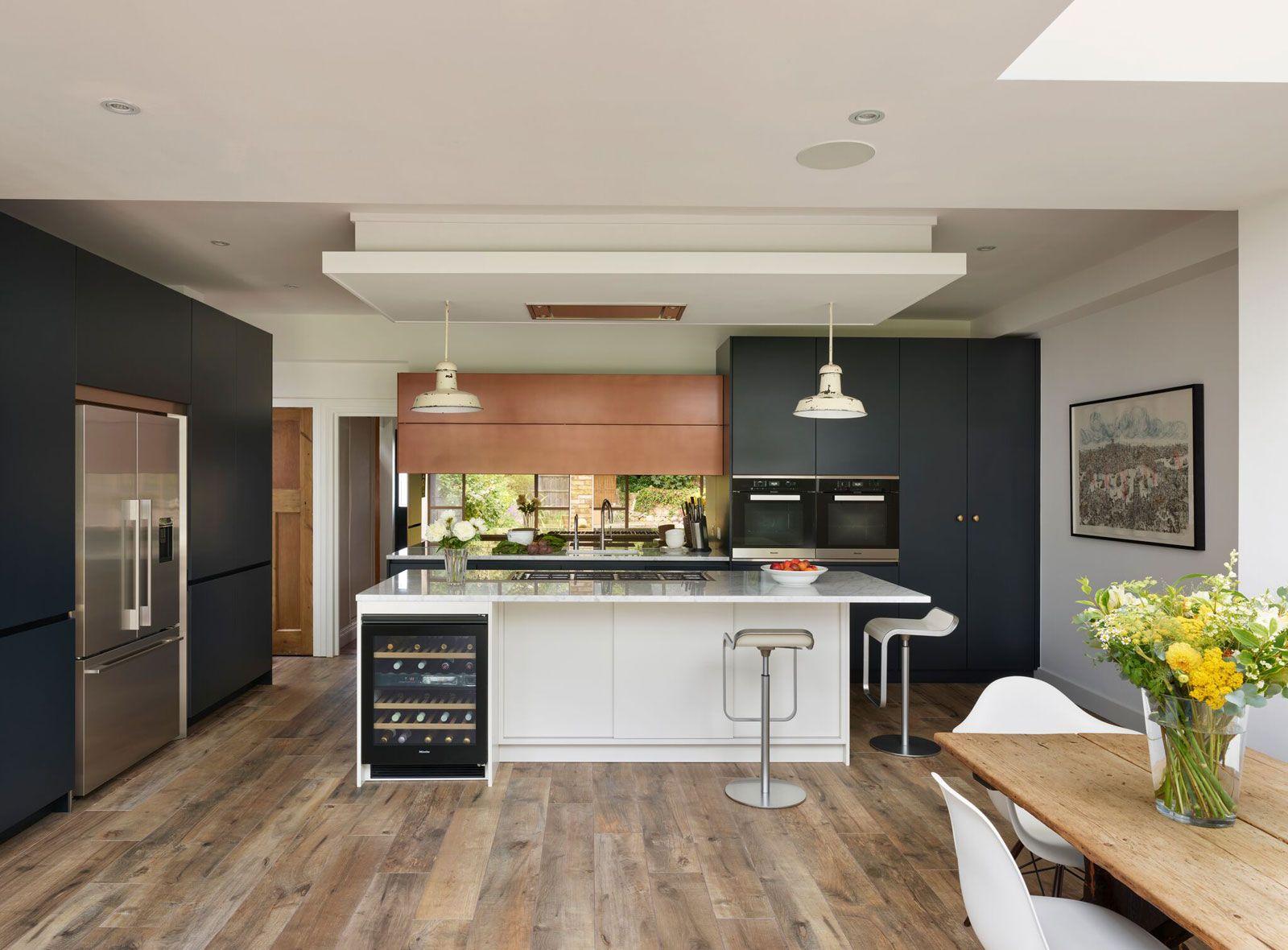 Roundhouse Design Cocinas modernas, Cocinas, Interiores