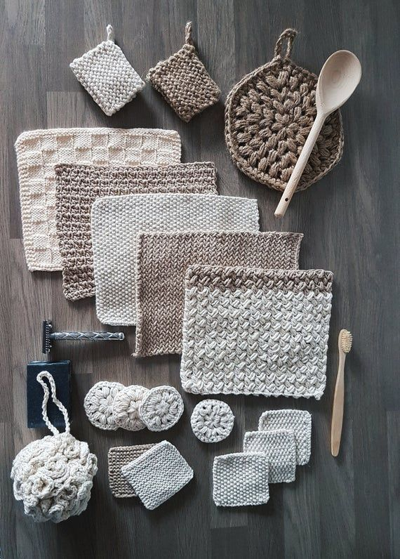 The Zero Waste Home Collection - crochet/knitting