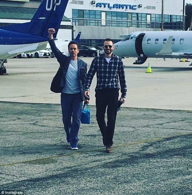Paltrow, Downey Jr. and Evans surprise cancer-stricken Avengers fan