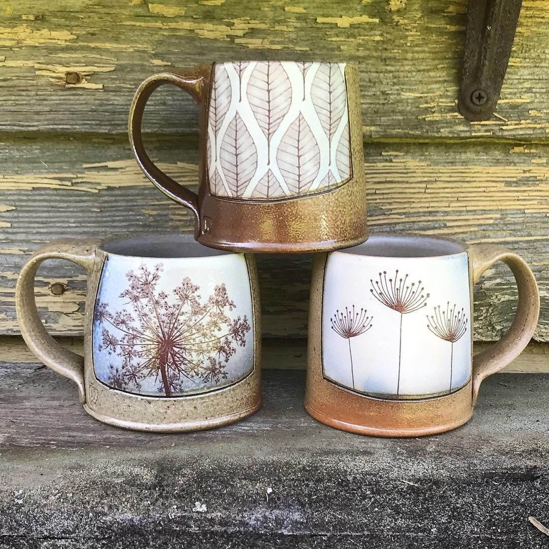 Evelyn Ward Pottery:  Getting ready Art in the Park in Blowing Rock this Saturday! #mugart