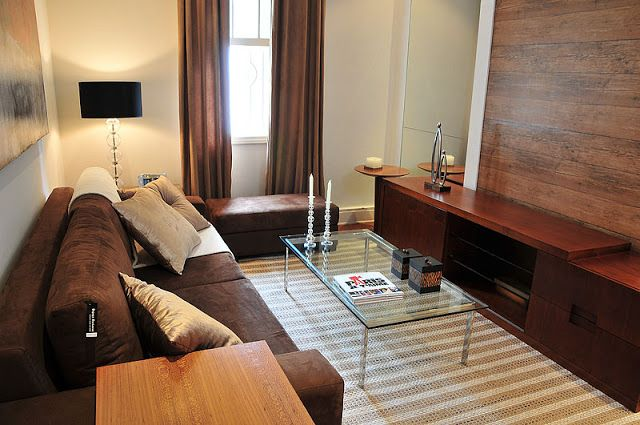 brown sofa, living room, brown decoration