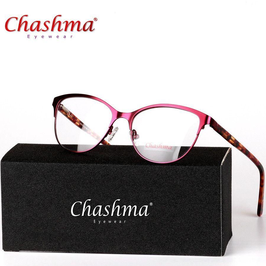 6f732f32a79 CHASHMA Brand Fashion Women Myopia Eye Glasses Frame Cat s Eye Optical  Glasses Frame Vintage Retro Spectacle Eyewear Eyeglasses  cute  love  iwant   dress ...