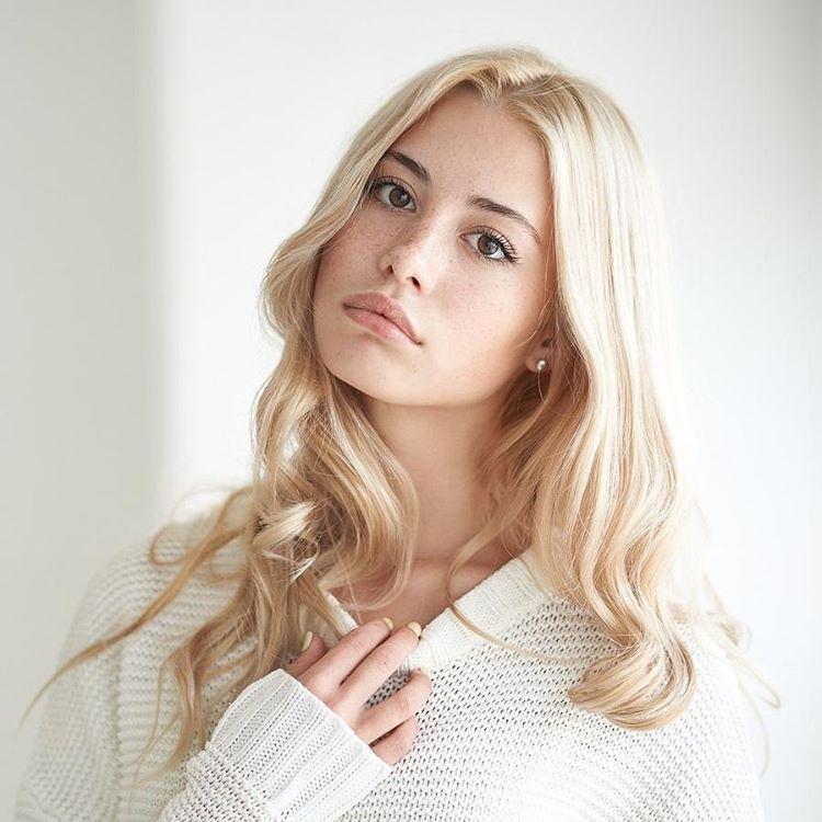 women model blonde freckles - photo #6