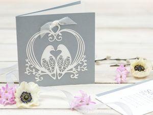 Lovely Doves Wedding Invitation Wedding Ideas Pinterest