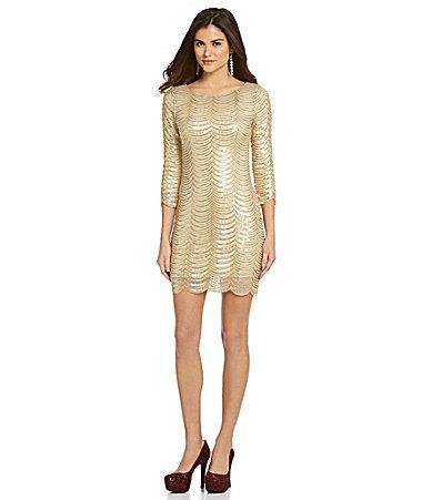 Gianni Bini Gatsby Dress #Dillards -- pretty as long as not super ...