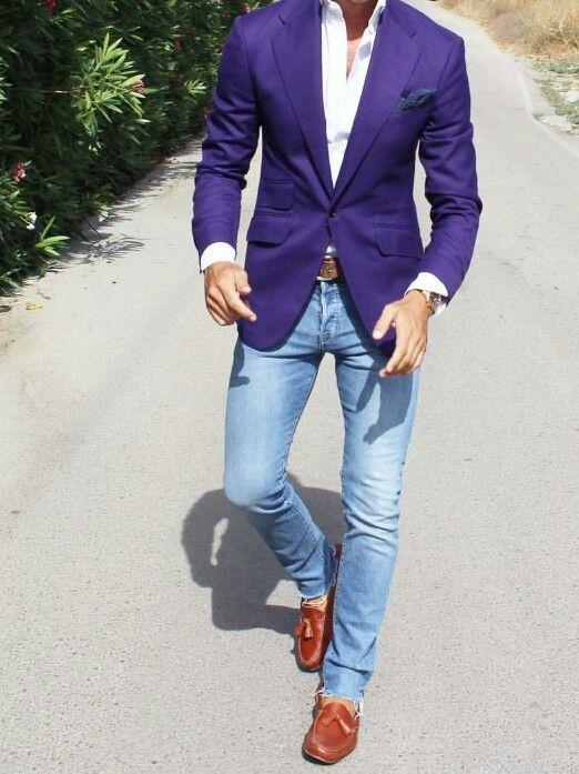 original purple outfits men 13