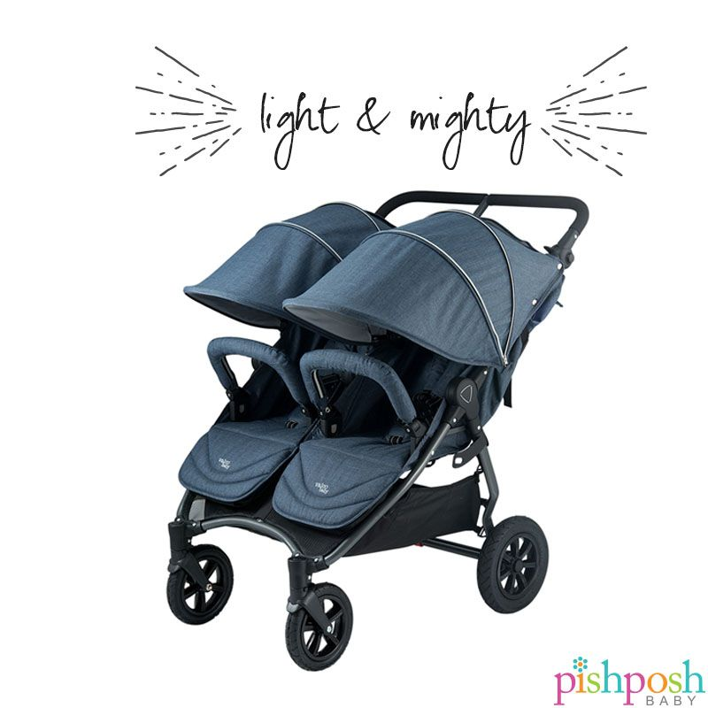 Double Stroller Best 2019 The Valco Baby Neo Twin Is A Lightweight Double Stroller