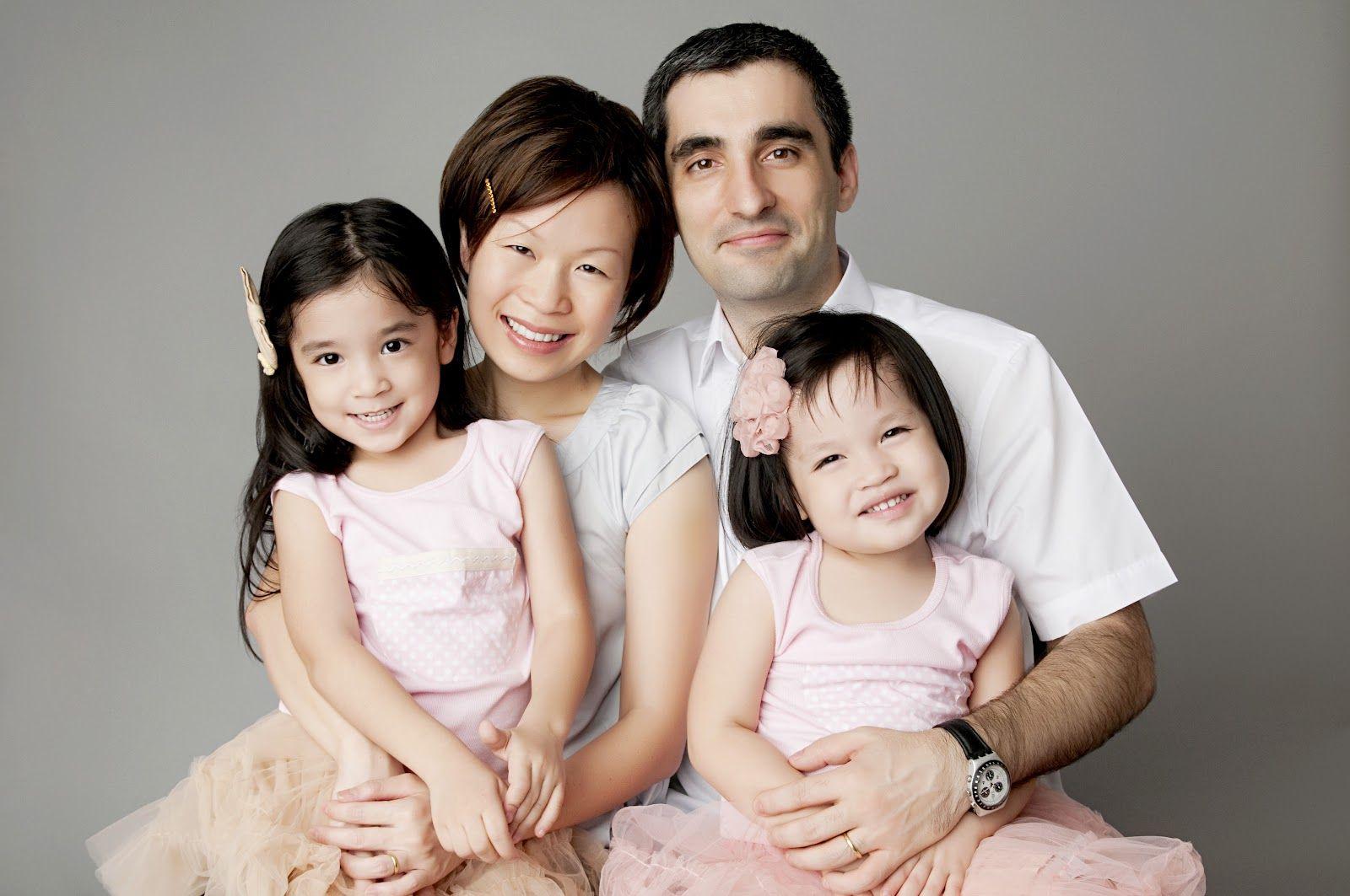 Family studio portrait ideas what to wear images