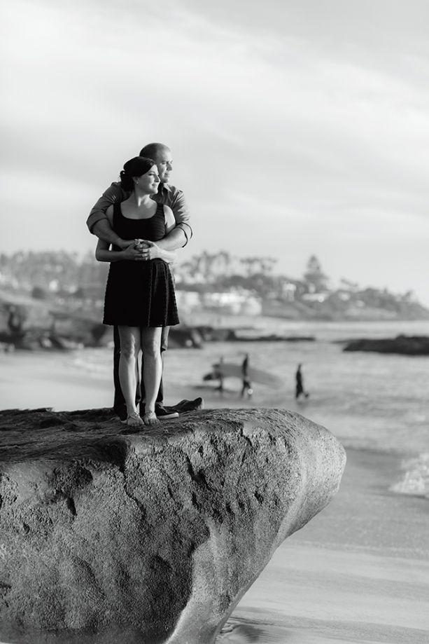 La Jolla San Diego Beach Engagement
