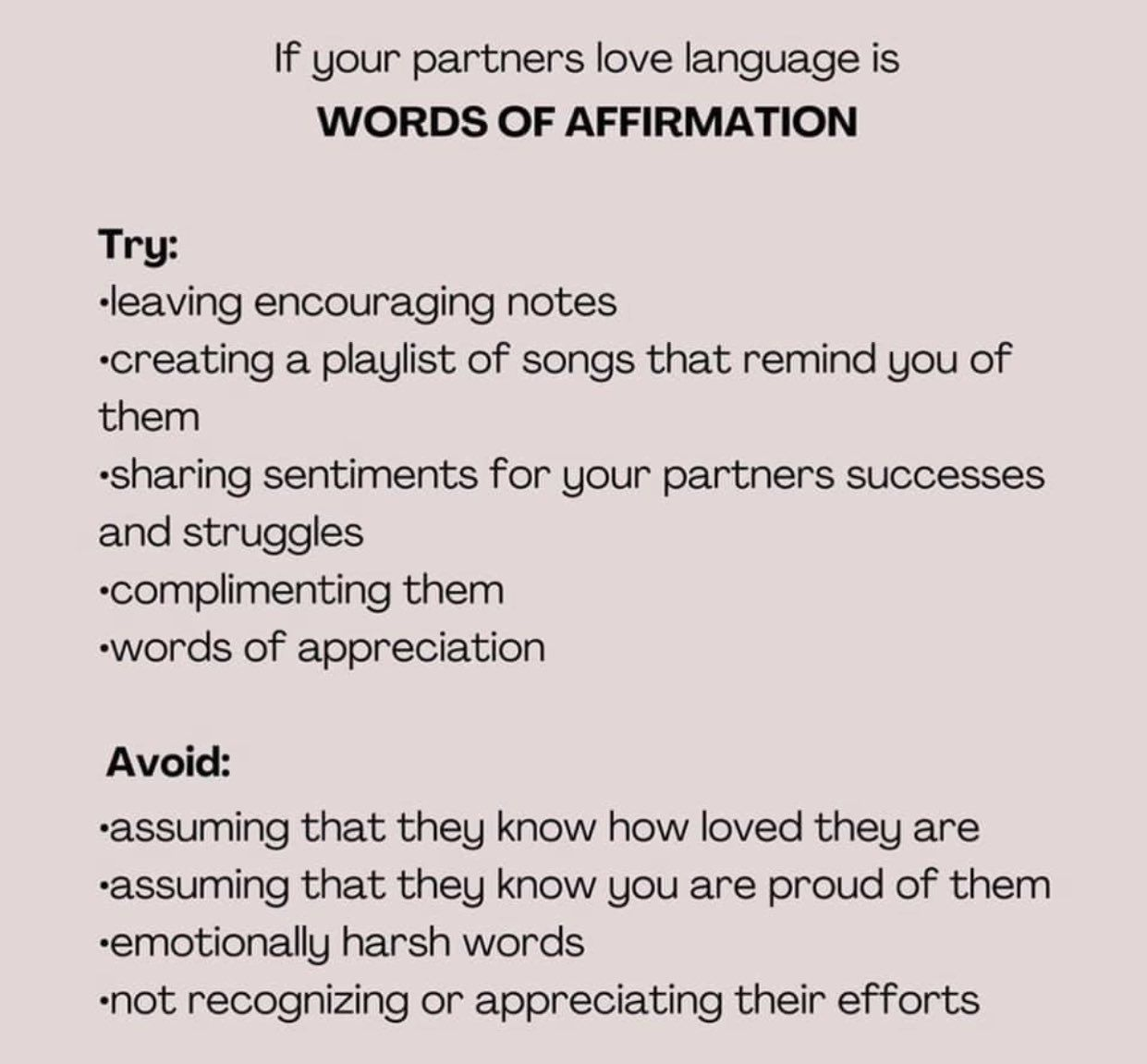Pin By Whitney Cusack On Ideas Words Of Affirmation Compliment Words Love Languages