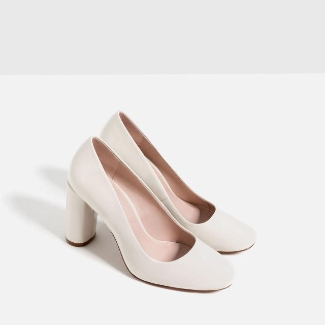 155fd1db2151 Zara Block Heels