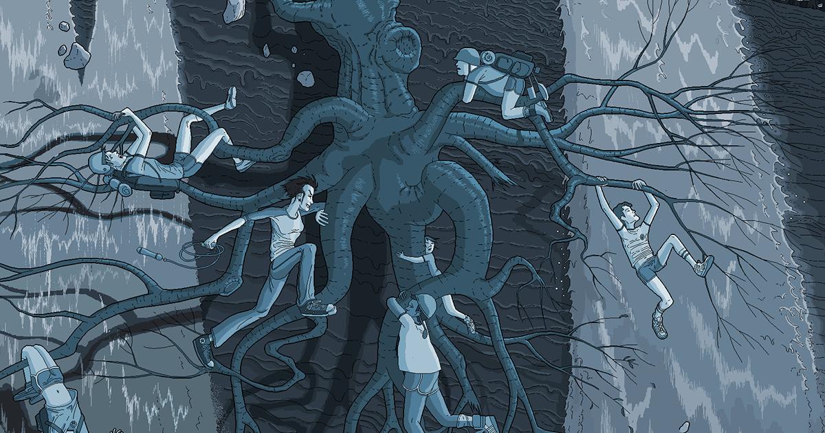 Detaljne ilustracije Patrika Hajnsa rađene u Pejntu