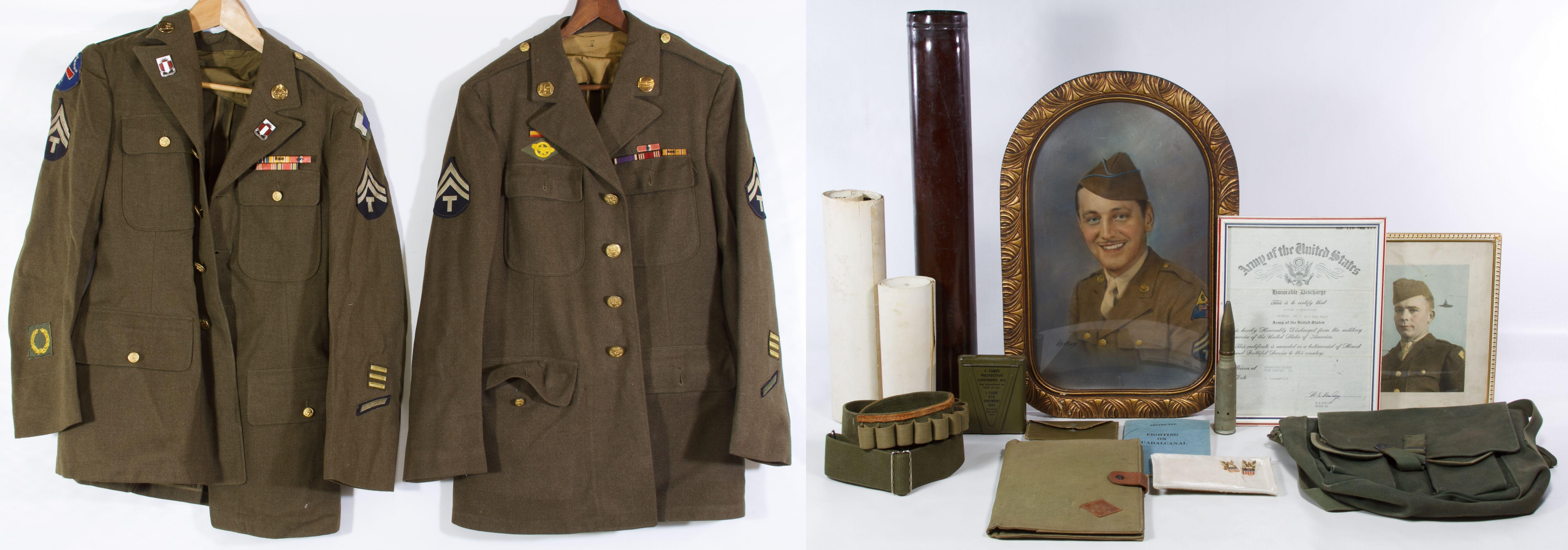 Lot 465  World War II US Army Jacket a3225daf0da