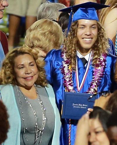 Arnold Schwarzenegger's love child Joseph Baena graduates from high