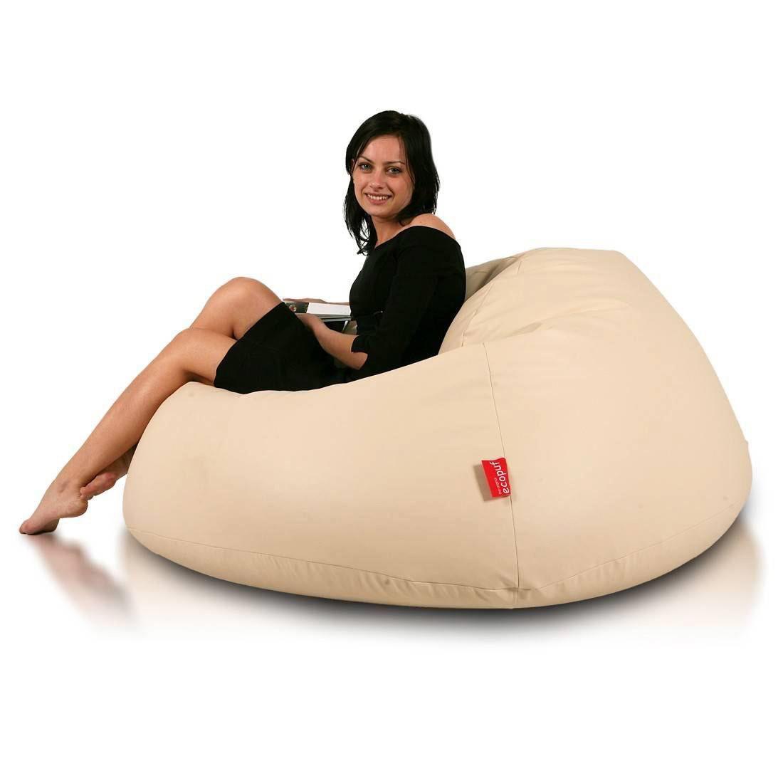 Large Faux Leather Bean Bag Chair Lounger Bean Bag Chair Large Bean Bag Chairs Leather Bean Bag
