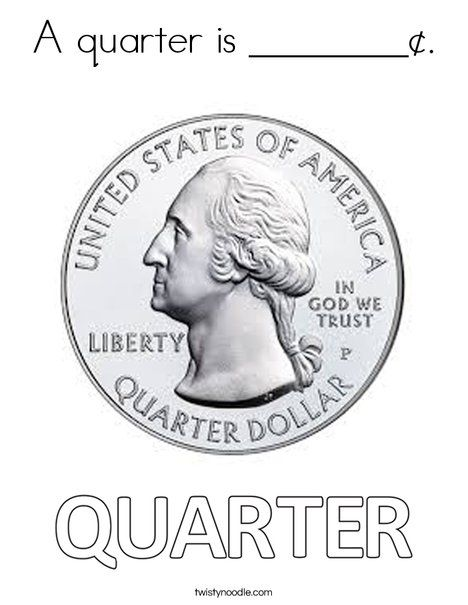 Q Is For Quarter Coloring For Kids Alphabet Coloring Pages