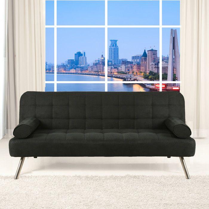 Incredible Ratliff 2 Seater Clic Clac Sofa Bed Furniture Sofa Bed Customarchery Wood Chair Design Ideas Customarcherynet