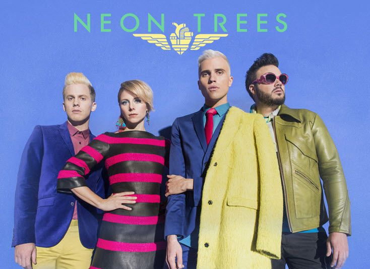 Neon Trees!  {Sleeping With A Friend}
