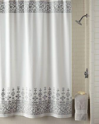 John Robshaw Jit Shower Curtain Curtains Gray Shower Curtains