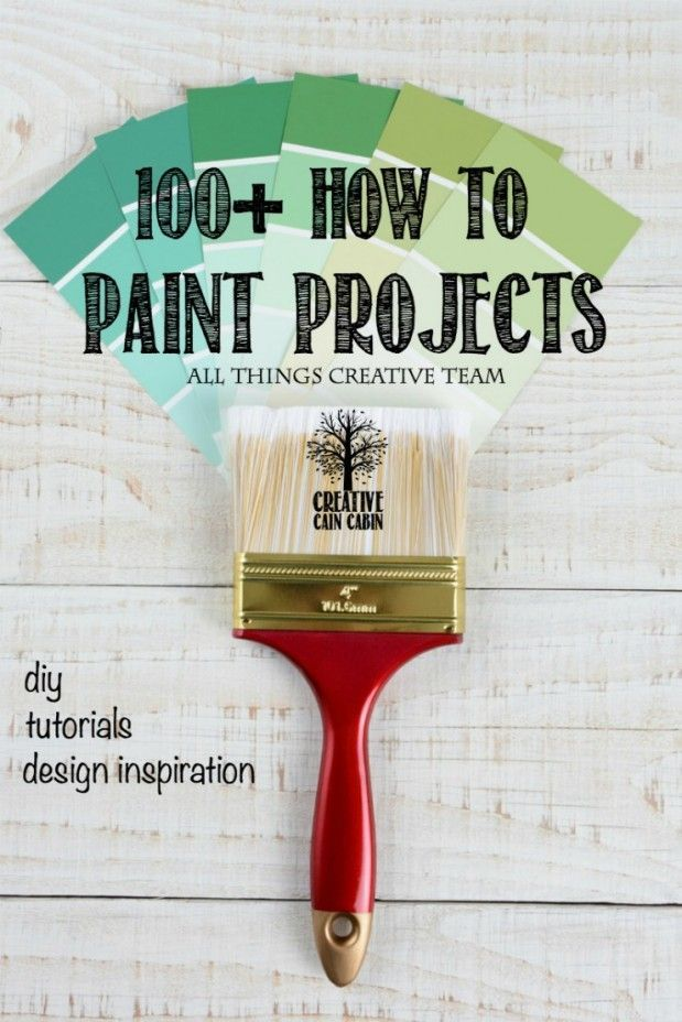 100 Inspirational Paint Project Giveaway Painting Projects Diy Painting