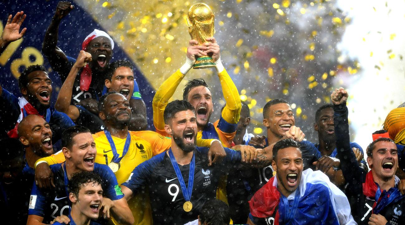 France Wins World Cup 2018 In Russia Young Squad Proves Too Much For Cinderella Croatia World Cup Trophy World Cup Winners World Cup
