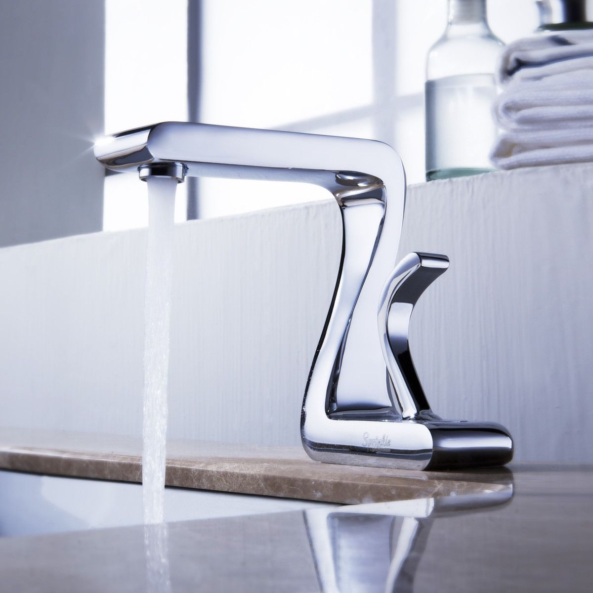 beautiful lines   Industrial   Pinterest   Brass bathroom, Bathroom ...