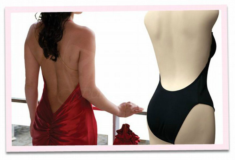Back Backless Body Shaper Convertible Underwire Padded Push Up Bra