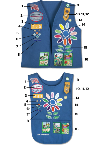 Girl scout daisy uniforms — img 3