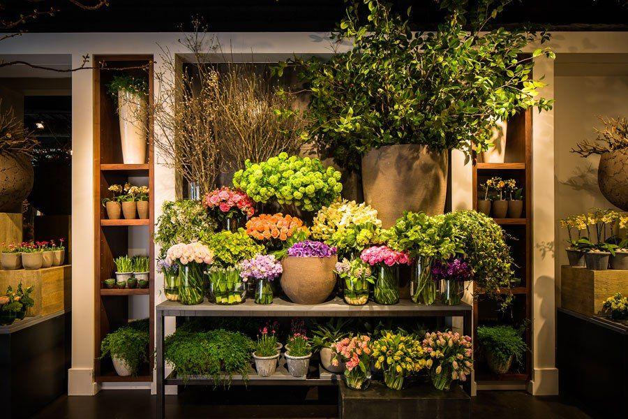 Фото внешнего оформления цветочных магазинов