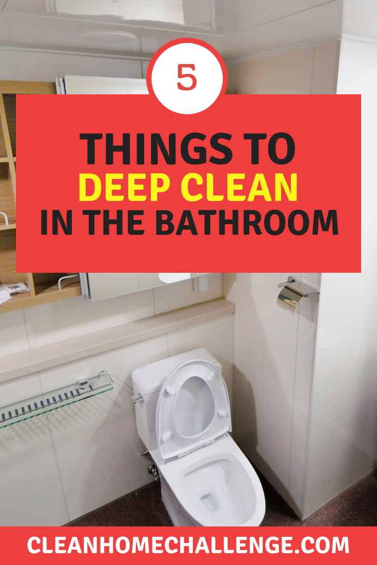 5 Deep Cleaning Bathroom Hacks To Save You Time Money Deep Cleaning Bathroom Cleaning Cleaning