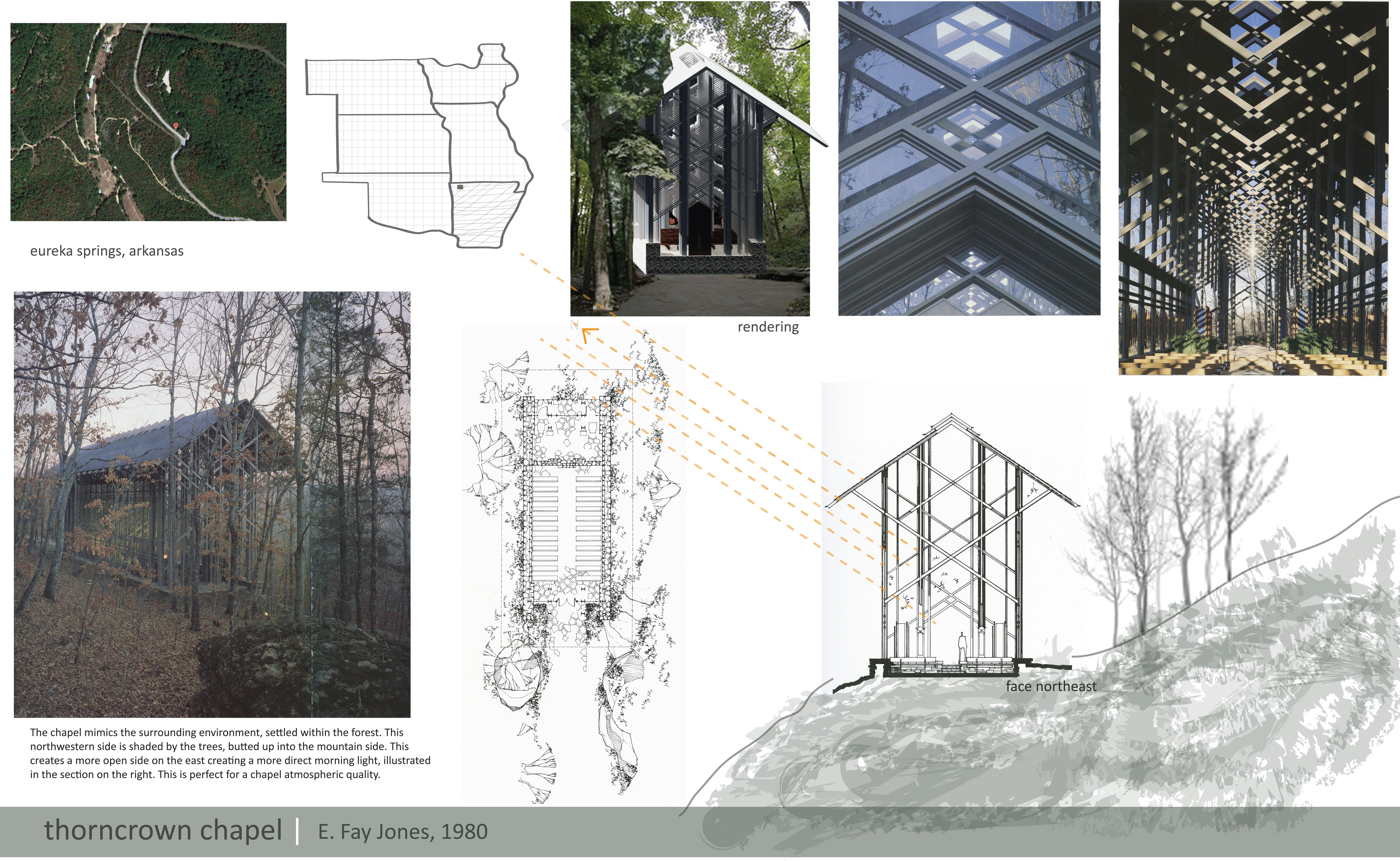Thorncrown Chapel By E Fay Jones Thorncrown Chapel Architecture Chapel