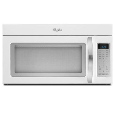 Whirlpool Ywmh53520ah 2 Cubic Ft Over The Range Microwave White Ice Over The Range Microwave 4 Speed Auto Adapt Fan 400 Cfm With Hidden Vent Over The Stove Microwave Over Range Microwave Microwave