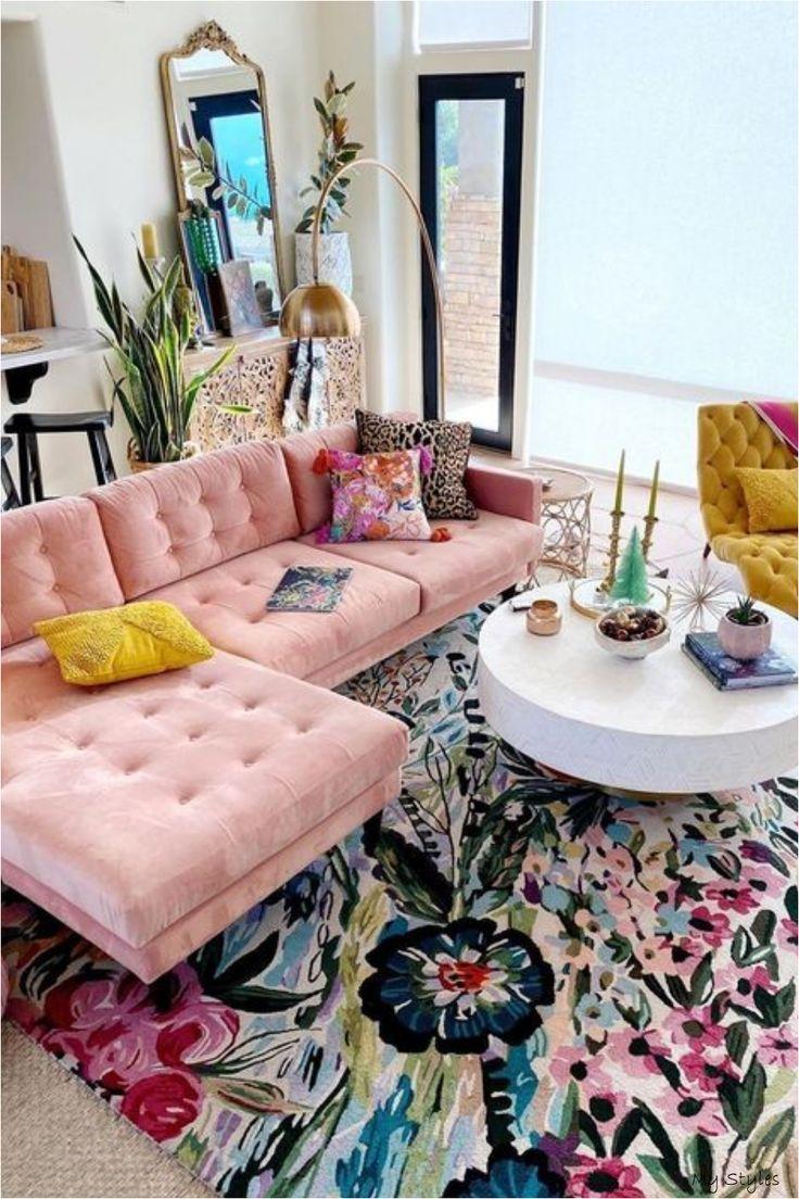 Colorful area rug for living room #livingroom #rug #arearug #etsy #homedecor #interiors