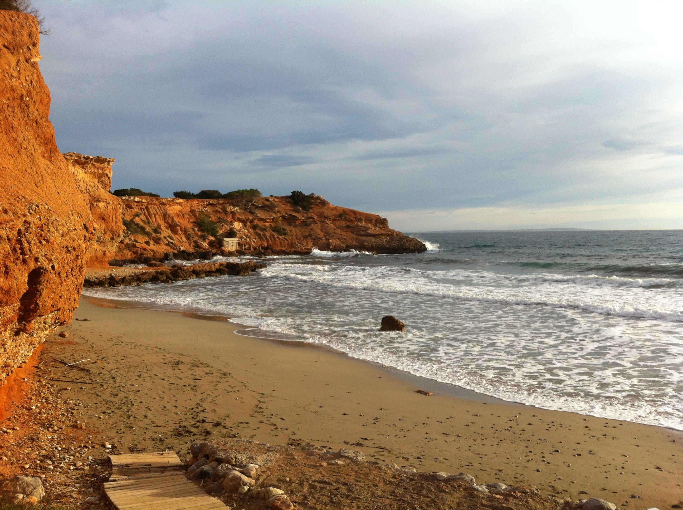 Deserted beaches, Ibiza in the winter #ibiza #villas #winter