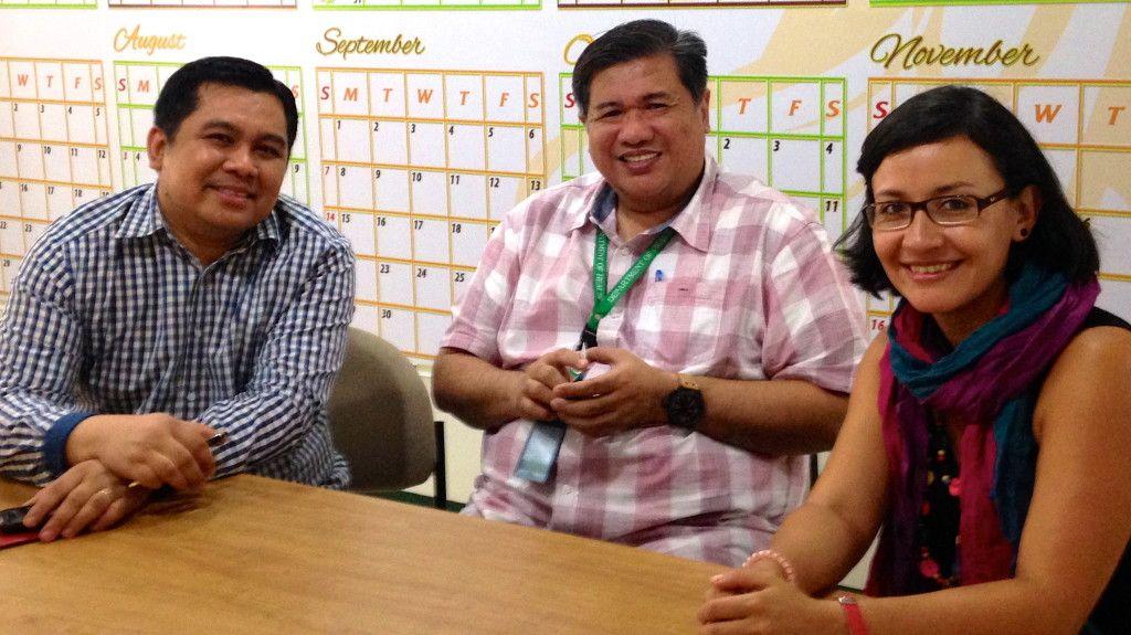 Noriel Venerable, Dengue Manager from Sanofi Pasteur and Dr