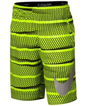 Nike Boys' Dry Training Shorts  - Yellow S