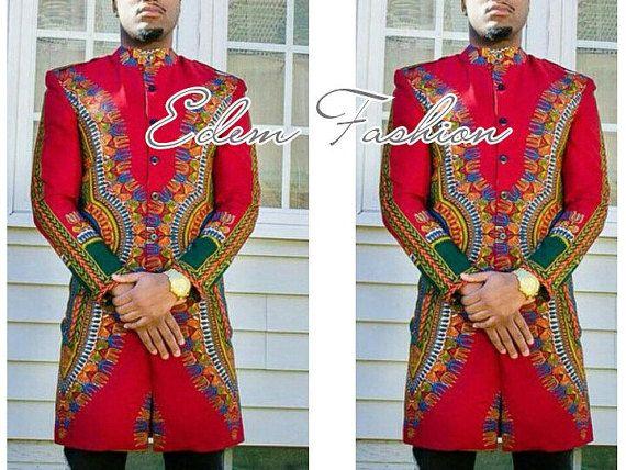 aa791aa2e2c0e African shirt, African men's clothing, dashiki shirt, dashiki suit, African  wedding suit,African print suit