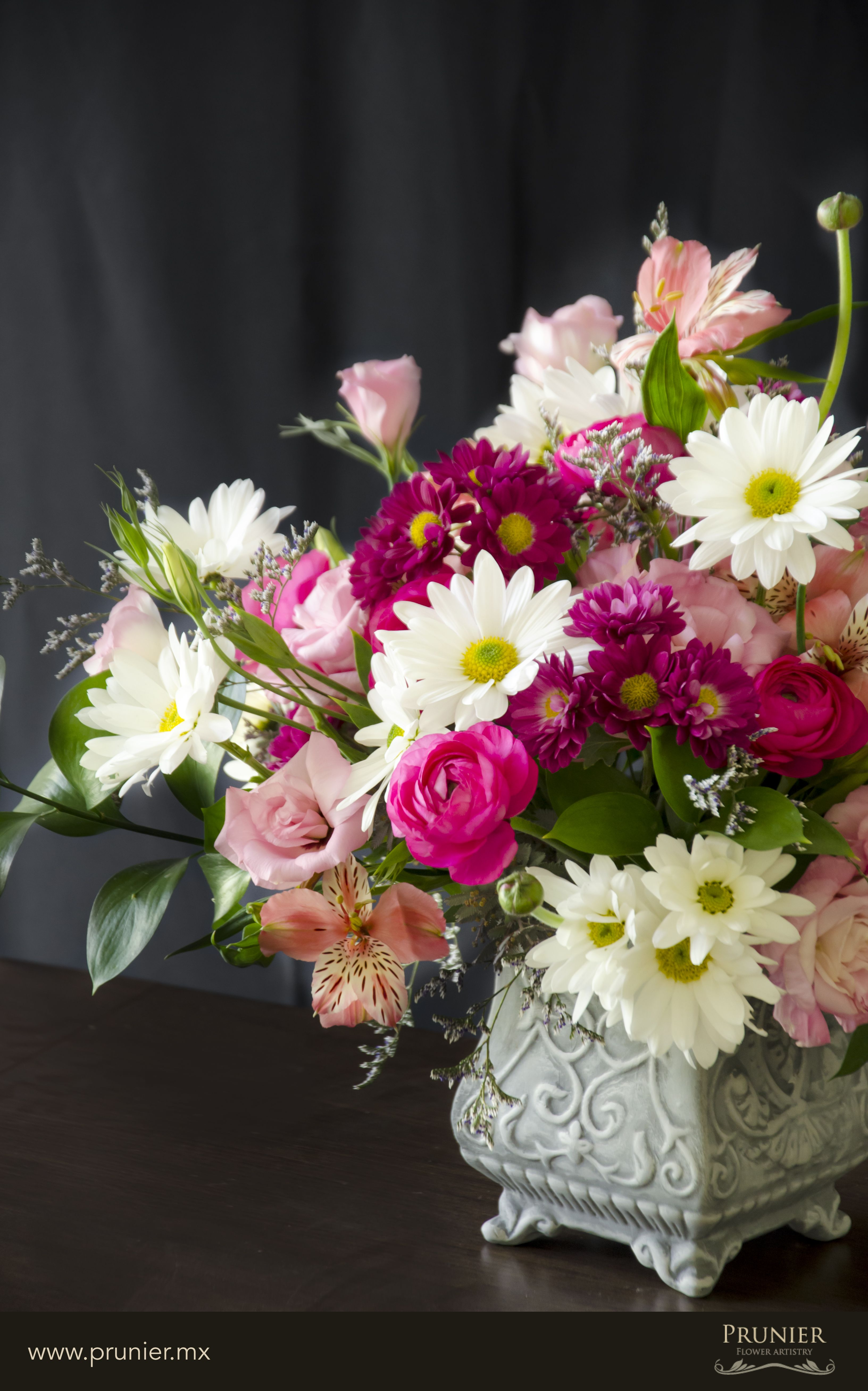 Arreglo Floral Arrangement De Fleurs Flower Arrangement