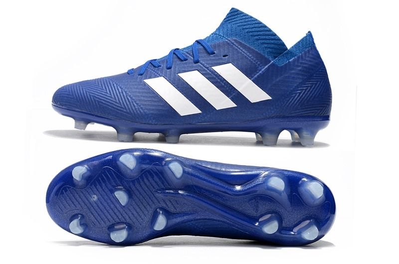 new style 50541 cdc73 adidas Nemeziz Messi 18.1 FG Copa Mundial 2018 - Azul Blanco
