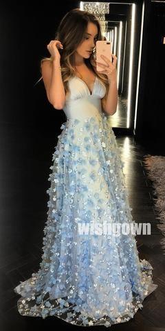 Elegant One Shoulder A-line Side Slit Long Prom Dresses PG1116