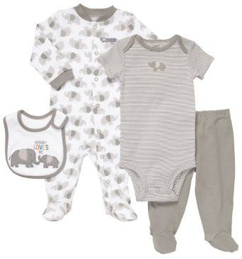 Gray Elephant Baby Clothing Set Ideas For The Baby