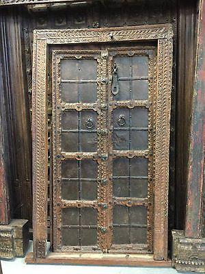 INDIAN ANTIQUE HAVELI DOORS | eBay & INDIAN ANTIQUE HAVELI DOORS | Doors eBay and Shabby chic furniture