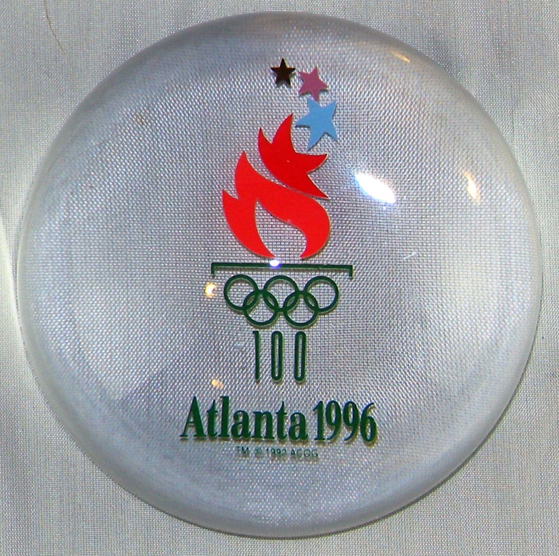 Centennial Round Olympic Pin Atlanta
